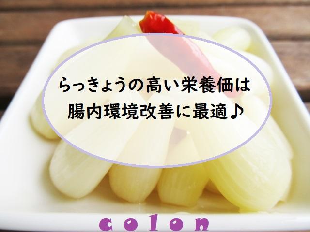 白い皿に盛られたらっきょうの漬物